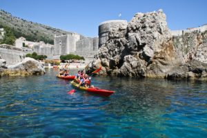 kayaking tour dubrovnik