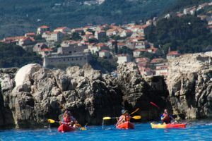 dubrovnik kayaking