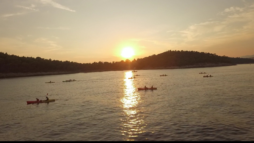 sunset kayak4