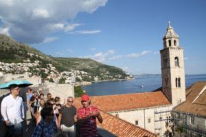 dubrovnik walking walls